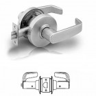 10U65 Sargent cylindrical privacy lever lock grade 1
