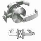 65G04 Sargent cylindrical storeroom or closet lever lock grade 2