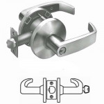 65G37 Sargent cylindrical classroom lever lock grade 2