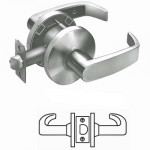 65U15 Sargent cylindrical passage lever lock grade 2