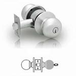 6G04 Sargent cylindrical storeroom knob lock grade 2