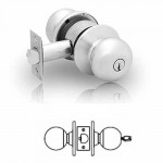 6G37 Sargent cylindrical classroom knob Lock grade 2