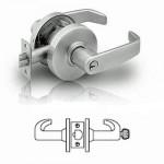 7G04 Sargent cylindrical storeroom or closet lever lock grade 2
