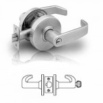 7G37 Sargent cylindrical classroom lever lock grade 2