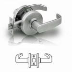 7U15 Sargent passage lever lock grade 2
