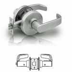 7U65 Sargent cylindrical privacy lever lock grade 2