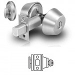 485 Sargent deadbolt single cylinder w/thumbturn grade 1