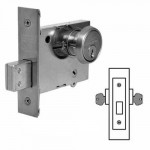 4874 Sargent mortise deadbolt double cylinder grade 1