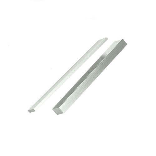 SECURITRON Aluminum Stop Filler Plate,1//2 In Clear SFP-1//2CL-8
