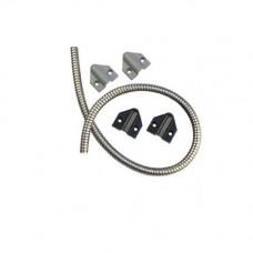 TSB-C Securitron Door Cord w/ Gray and Black Caps