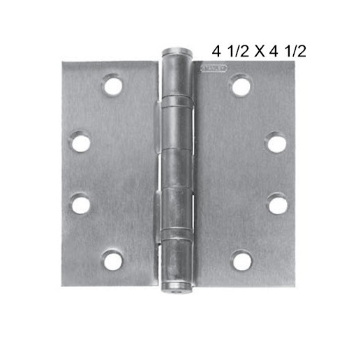 Stanley Full Mortise Ball Bearing Hinge 4 1 2 Quot X 4 1 2