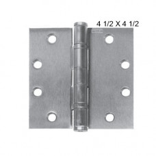 "FBB179NRP Stanley Full Mortise -Ball Bearing Hinge - 4-1/2"" x 4-1/2"""