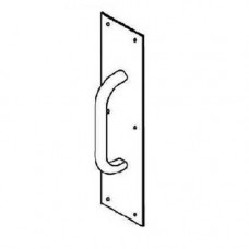 """1015-3 Trimco Pull Plate 4"""" x 16"""" - 6"""" CTC"""