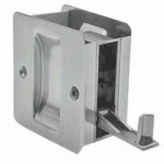 1064 626 Trimco pocket door pull - non latching