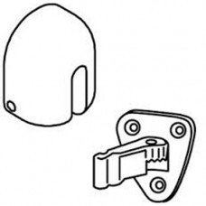 "1283-6S Trimco ""Adjustre"" Floor Stop & Holder"
