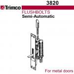 3820 Trimco UL Semi-Automatic Flushbolt - Metal Doors