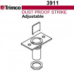 3911 Trimco Adjustable Dust Proof Strike