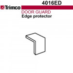 4016ED Trimco Door Guard - Edge Protector Only