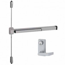 2227L-F Von Duprin Fire Rated - Surface Vertical Rod Exit Device - Lever Trim