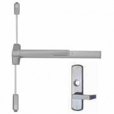 9927L Von Duprin Surface Vertical Rod Exit Device - Lever Trim
