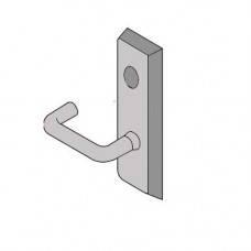 CR626F Yale Exit Device Trim For Rim & Vertical Rod - Escutcheon x Lever & Less Cylinder